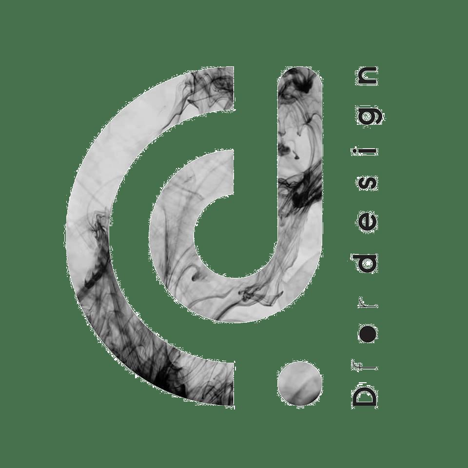 D for design logo